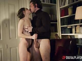 Romantic sex with stimulating Kimmy Granger is fucking amazing
