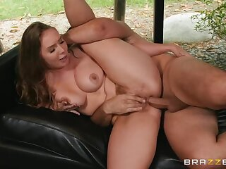 Hairy-pussied blonde Lena Paul gets butt-fucked by Keiran Lee