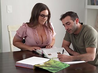 Its Hard To Stay Level focus on Presently You Got A Busty Teacher - Natasha Nice