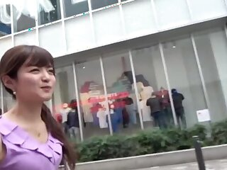 Vacuous makes this Japanese girl happier than sucking in the first place a dick