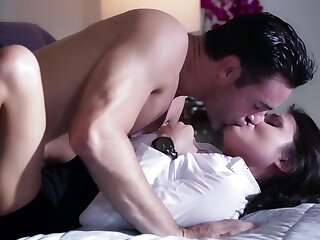 Aidra Rae uses amulet for pleasure doing rolling in money with Charles Dera