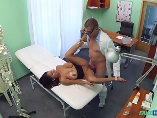 Doc Screws Big-busted Horny Patient