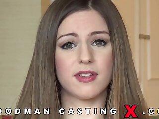 Stella Cox hard fuck in the casting couch